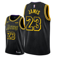 buy popular 213aa f9118 LeBron James Lakers 2018 'City Edition' Swingman Jersey