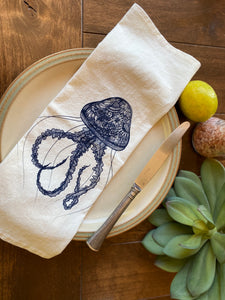PRE ORDER Jellyfish Napkin set of 2