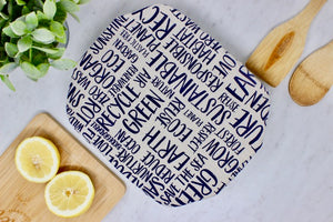 Words Casserole cover Buy 10 save 15%