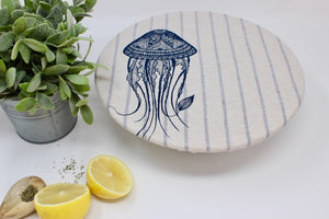 Set of 2 Jellyfish and stripes
