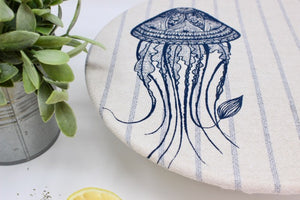 Set of 2 Jelly Fish and stripes