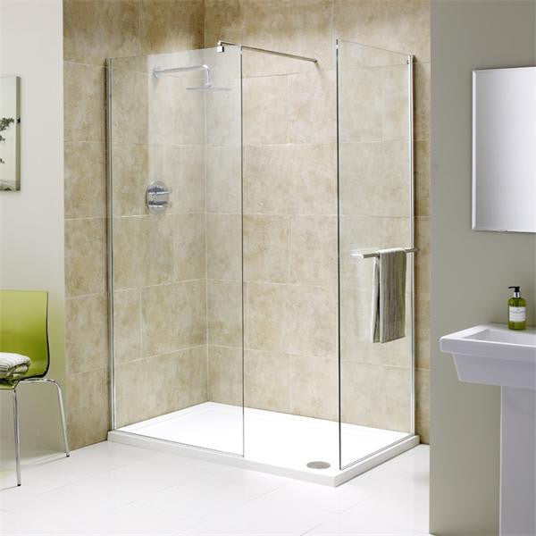 Flair Chianti Wetroom End Panel