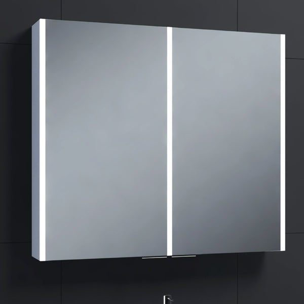 Drift 2D LED Mirrored Cabinet
