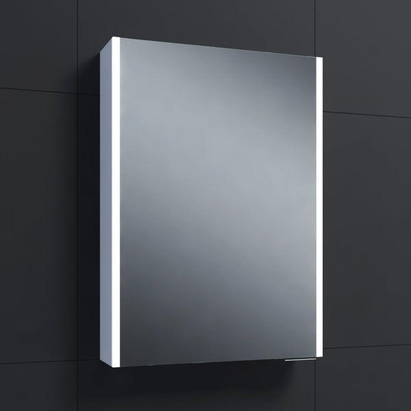 Drift LED Mirrored Cabinet