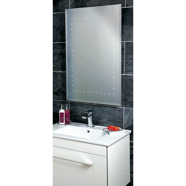 Solar LED Backlit Mirror