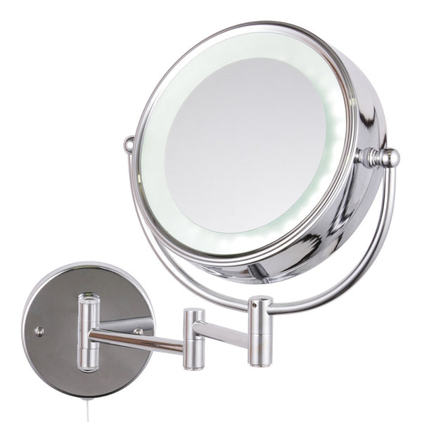 Apus led Circular Magnifying Mirror