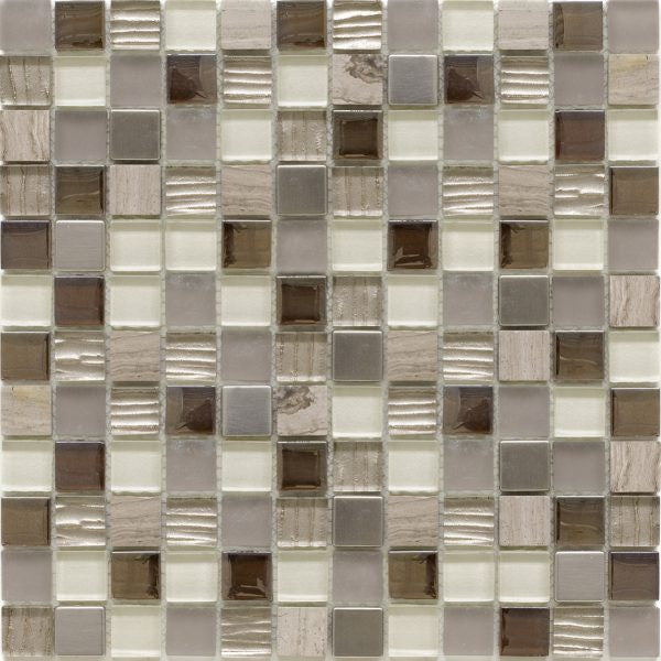 SALERNO BEIGE MOSAIC SHEET (2.3*2.3)