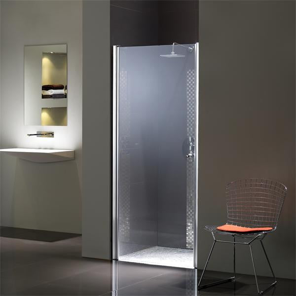 Flair Frameless Wetroom Pivot  Door