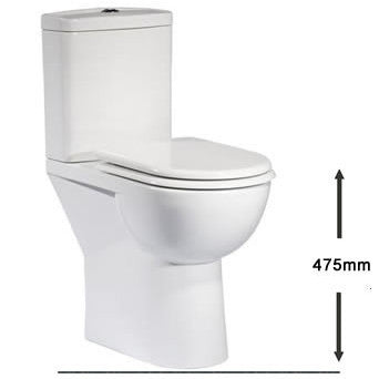 Micra Comfort Height Toilet