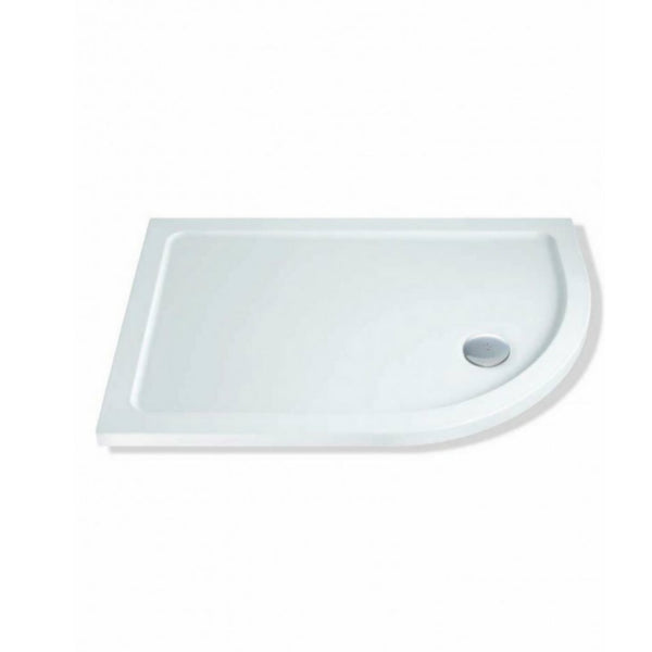 Offset Quadrant Shower Tray Right