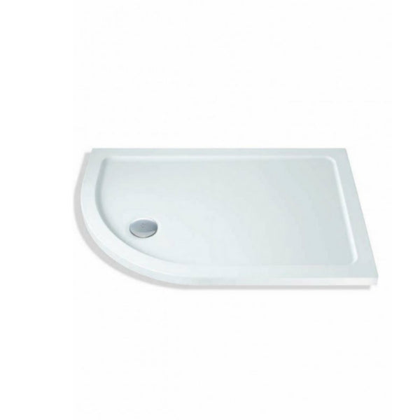 Offset Quadrant Shower Tray Left