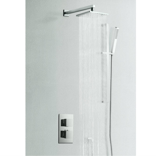 Enzo Dual Outlet Concealed Shower