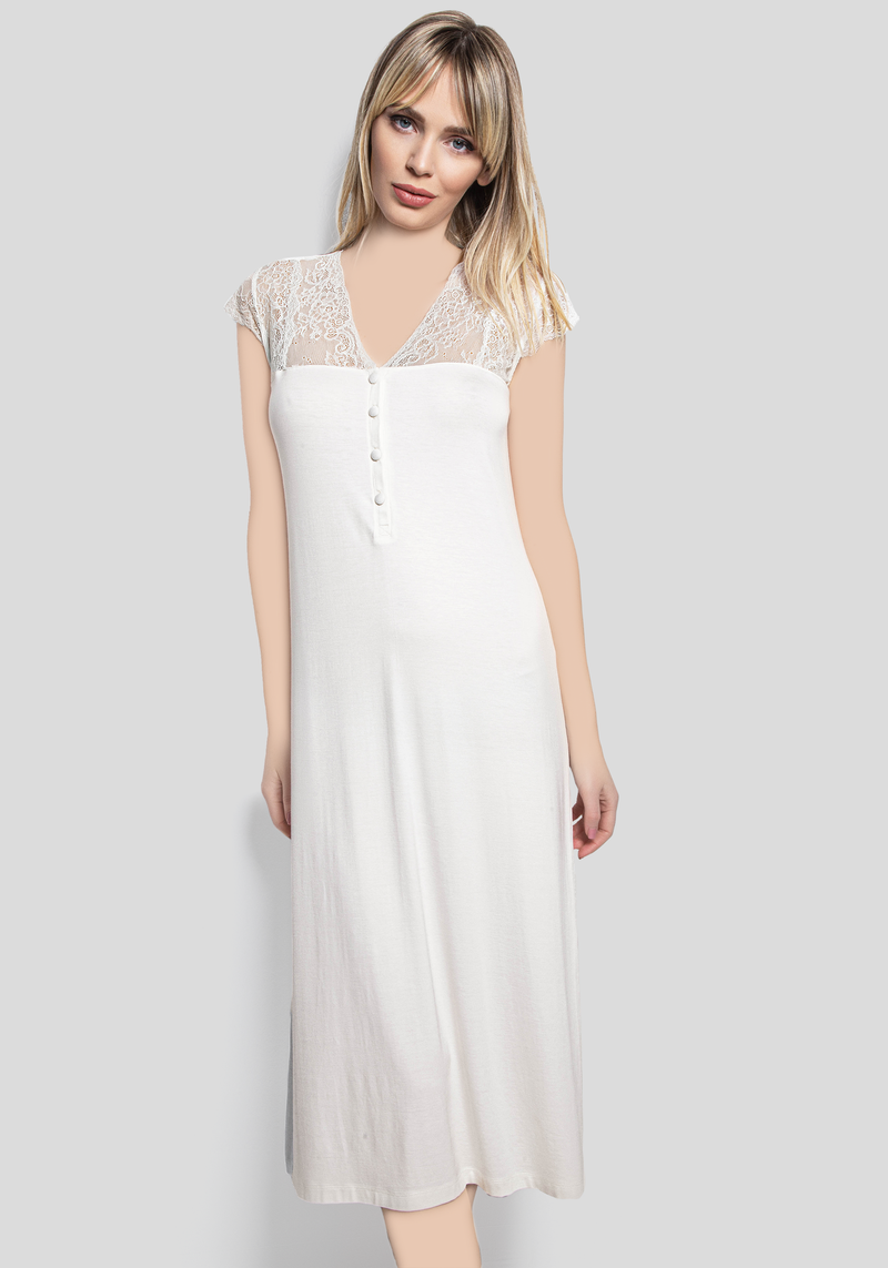 S&L Long Short Sleeve Nighty