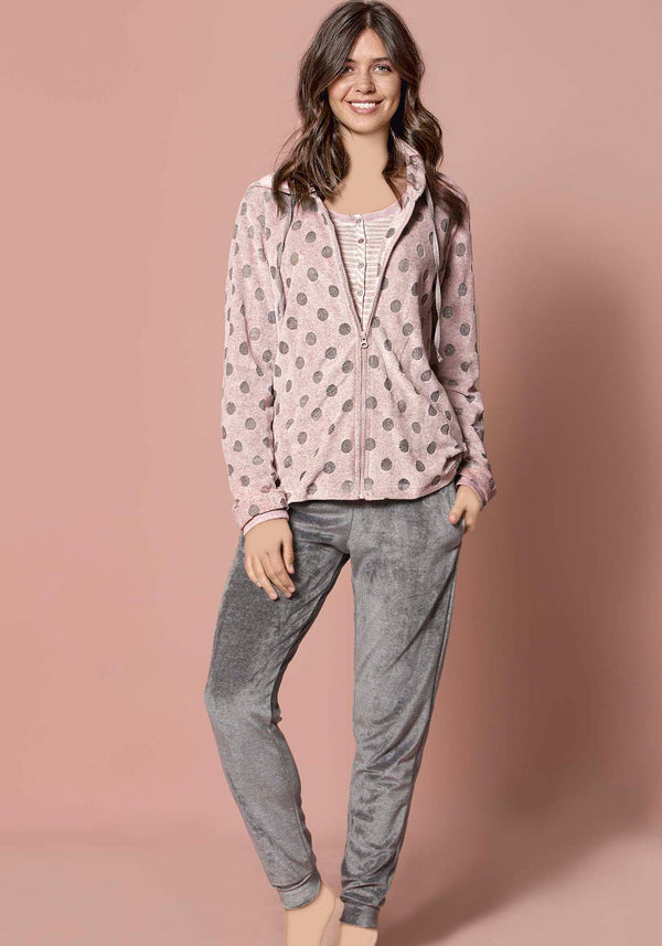 S&L Happy 3 Piece Pajama - Layla Collection