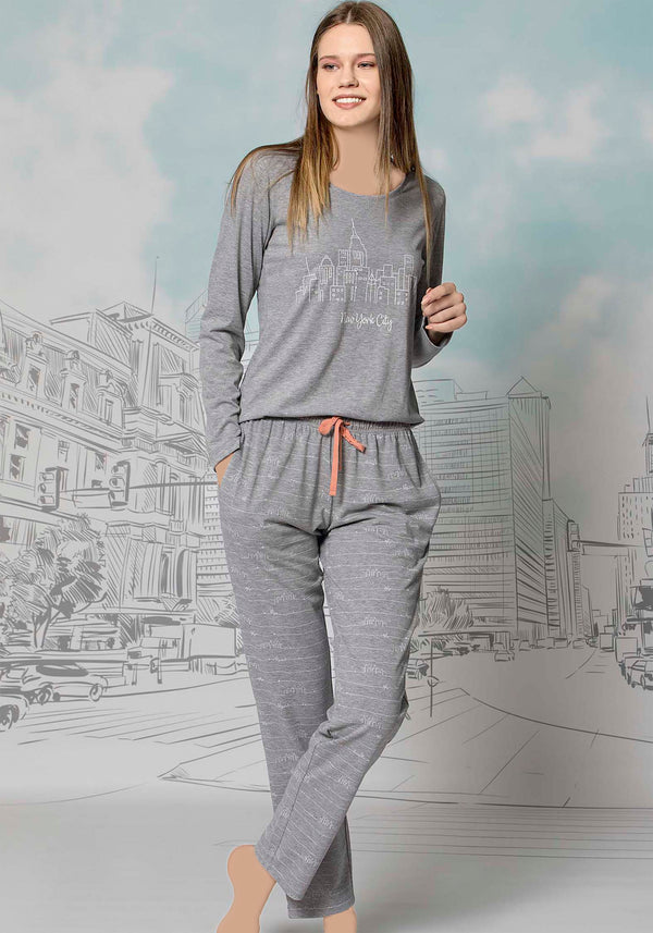 S&L Jamais Long Sleeve Pajama - Layla Collection