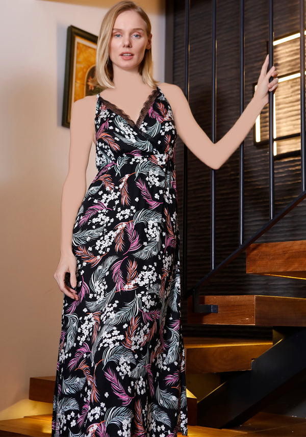S&L Long Nighty - Layla Collection