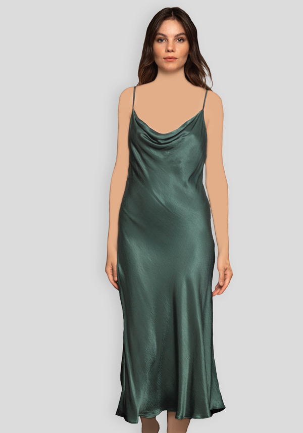 LNGR Satin Long Nighty