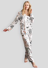 S&L Button Long Sleeve Pajama