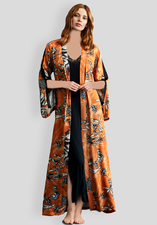 S&L Long Robe Set