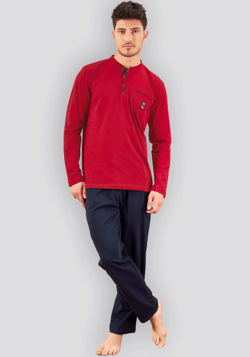 Men's Long Sleeve Pajama