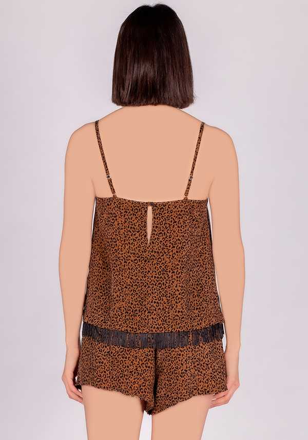 S&L VGN Leopard Short Set