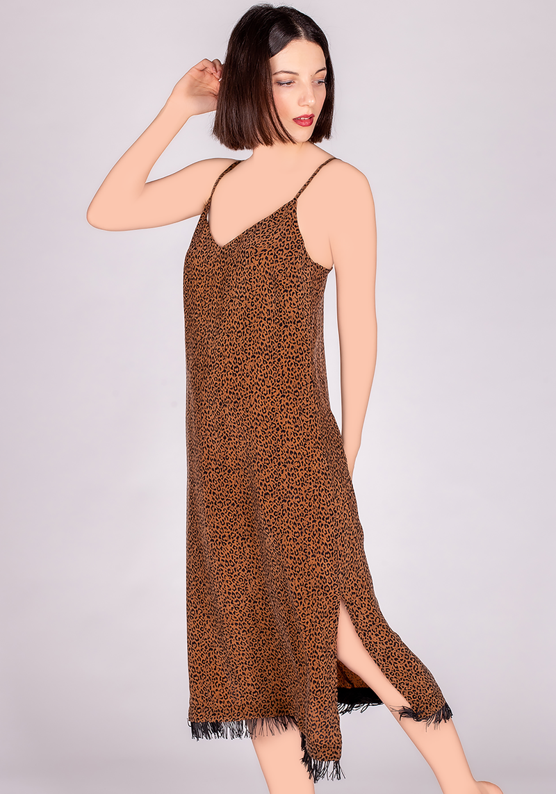 S&L VGN Leopard Nighty