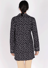 S&L Long Sleeve Collar Button Nighty