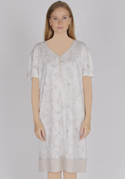 PLUS Maternal Short Sleeve Nighty