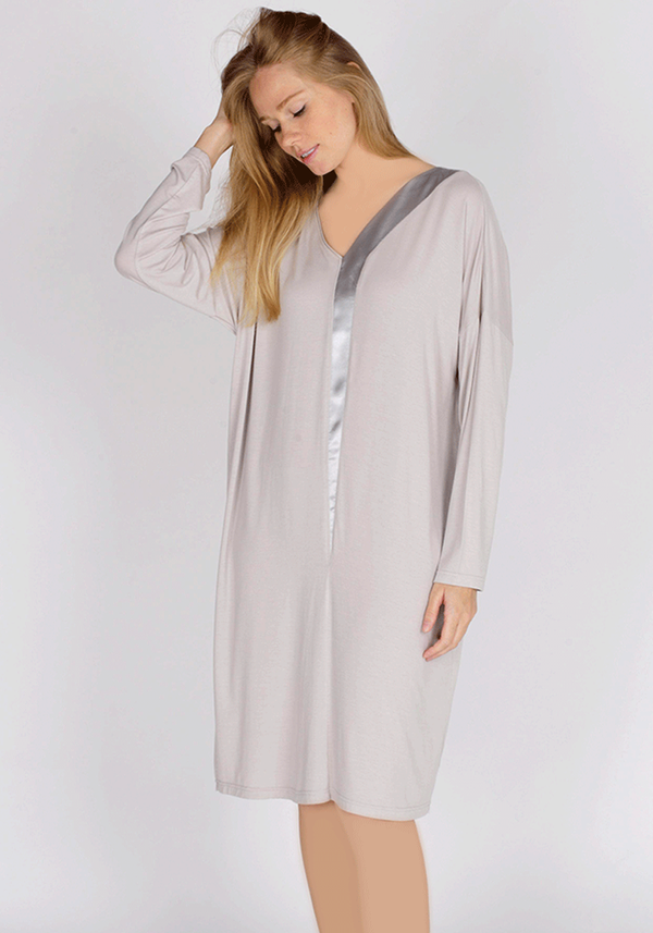 PLUS Long Sleeve Nighty