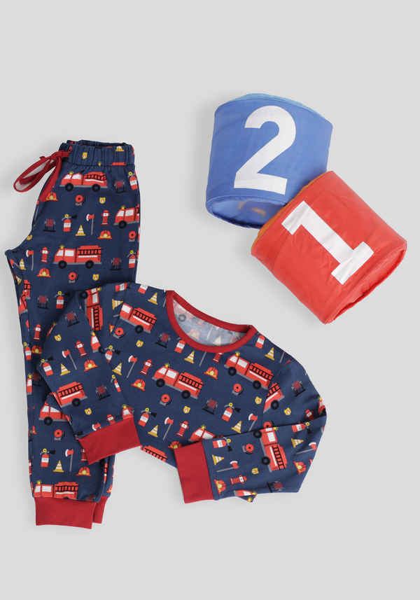 S&L Boys Long Sleeve Pajama