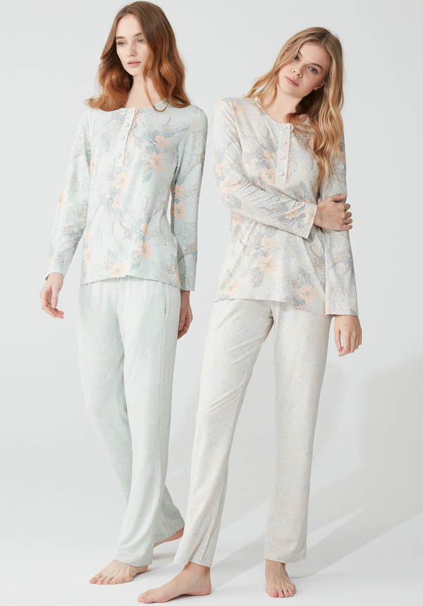 S&L Long Sleeve Pajama - Layla Collection