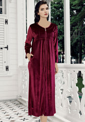 S&L VLR Long Sleeve Long Gown