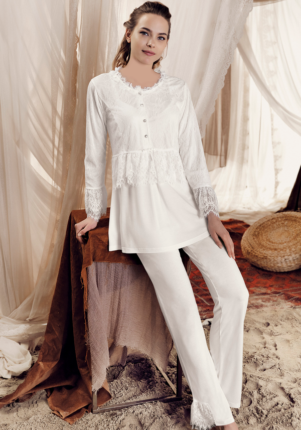 Maternal Long Sleeve Pajama - Layla Collection