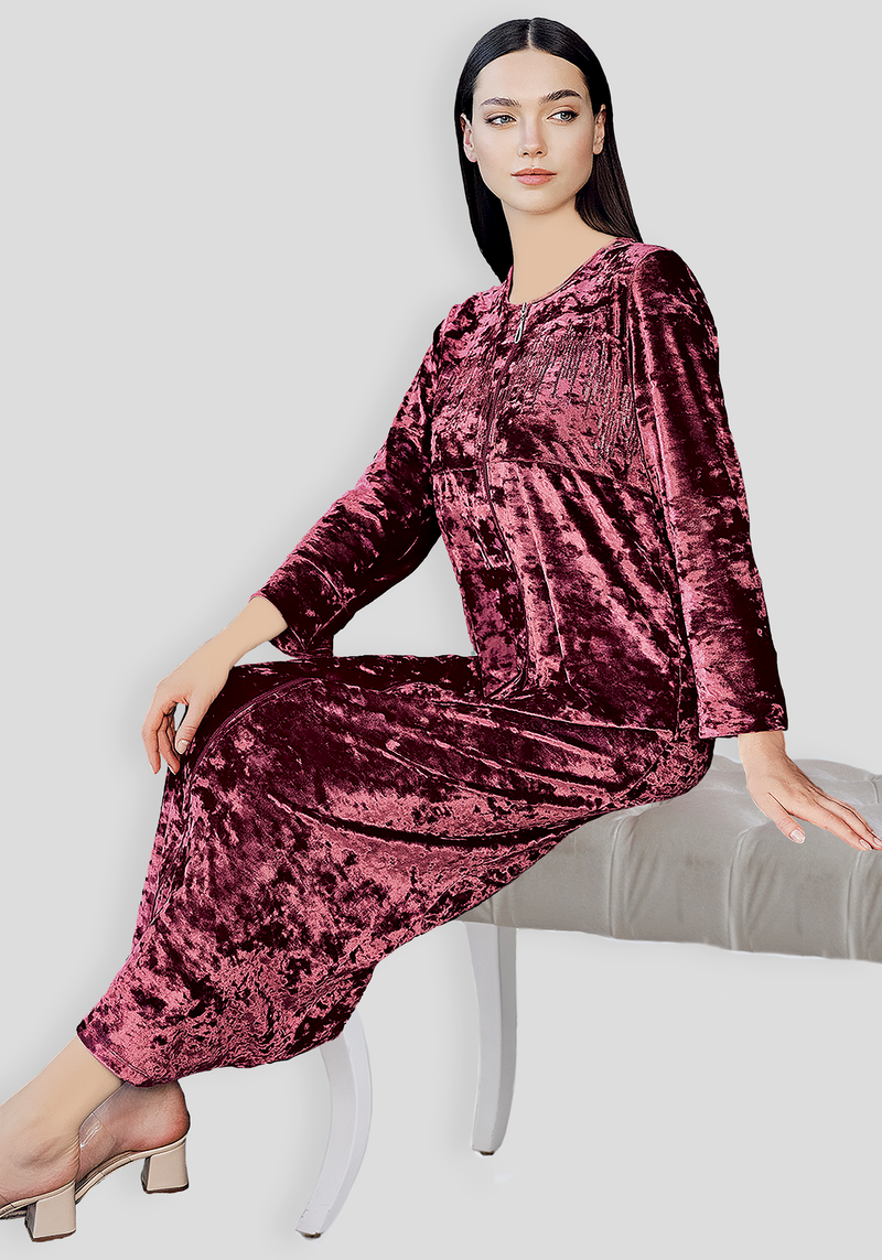 S&L VLR Long Sleeve Long Nighty
