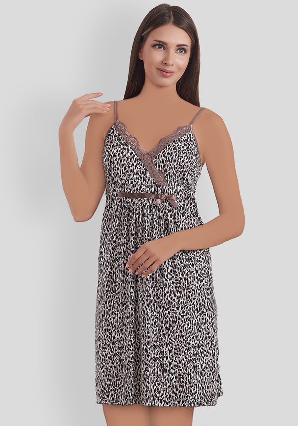 S&L Leopard Nighty