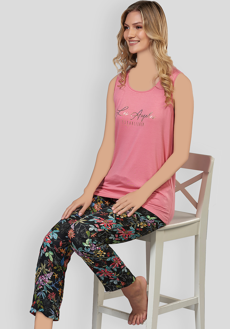 S&L Sleeveless Pajama