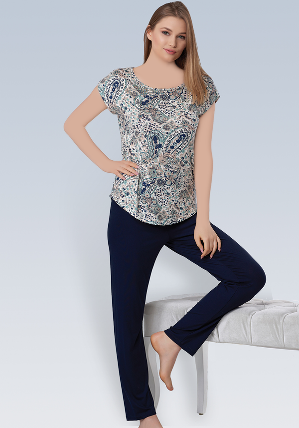 PLUS Short Sleeve Pajama - Layla Collection