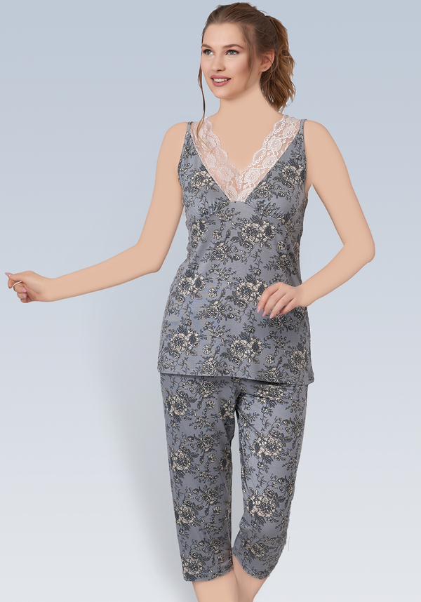 PLUS Sleeveless Pajama - Layla Collection