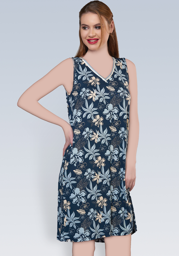 PLUS Sleeveless Nighty - Layla Collection