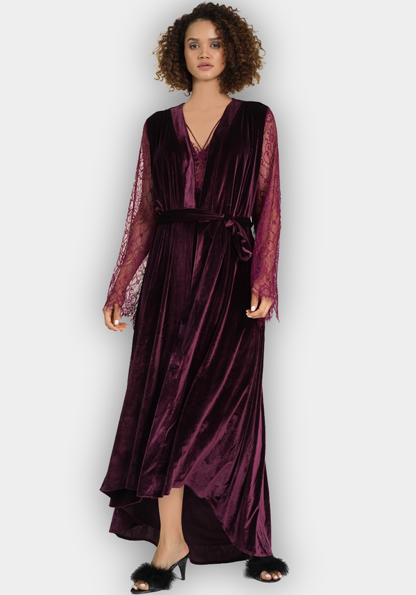 S&L VLR Long Robe Set