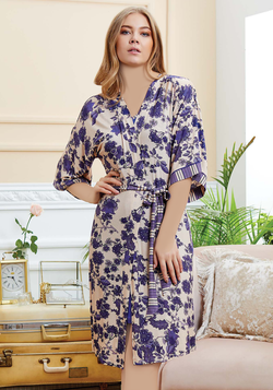 S & L Sax Robe Set - Layla Collection