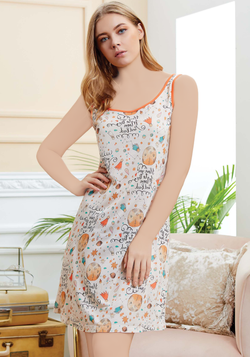 S&L Orange Nighty - Layla Collection