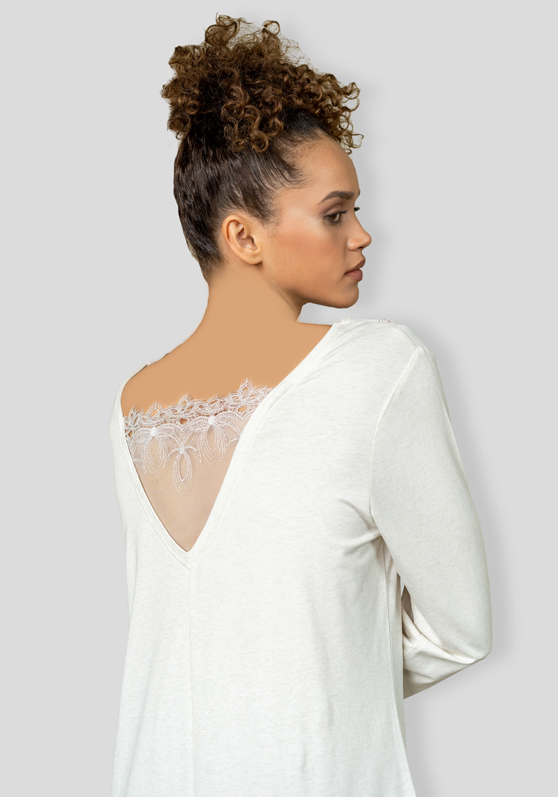 S&L Long Sleeve Nighty