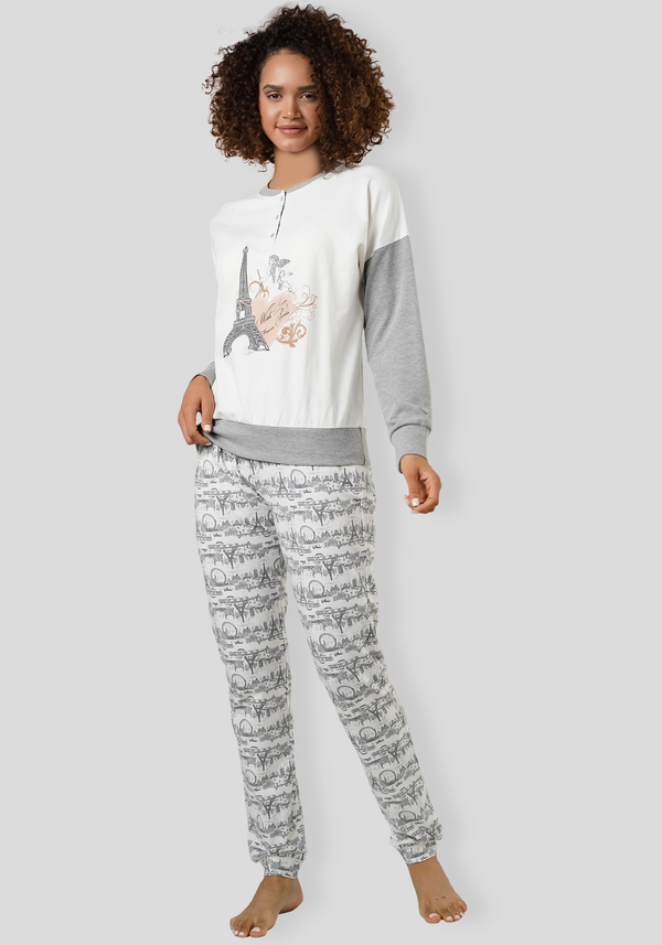 S&L Paris Long Sleeve Pajama