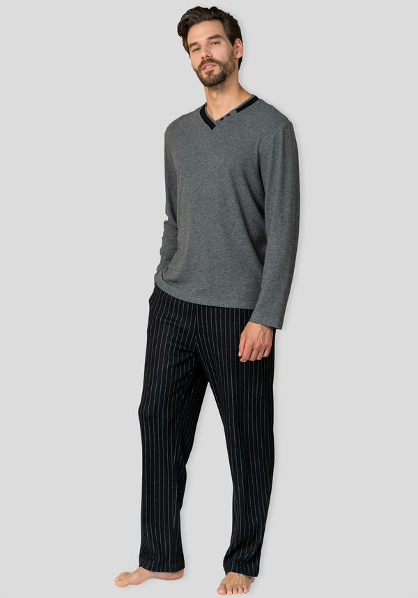 S&L Men Long Sleeve Pajama
