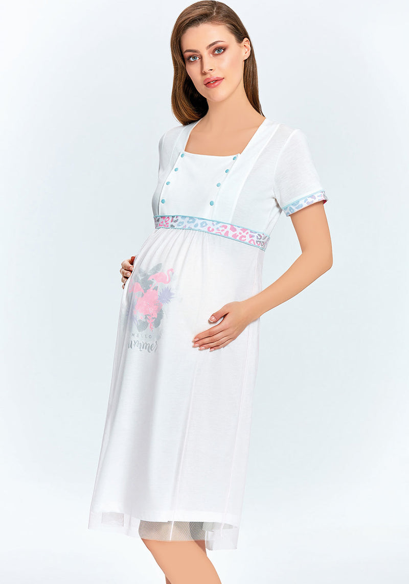 Maternal Robe Set - Layla Collection