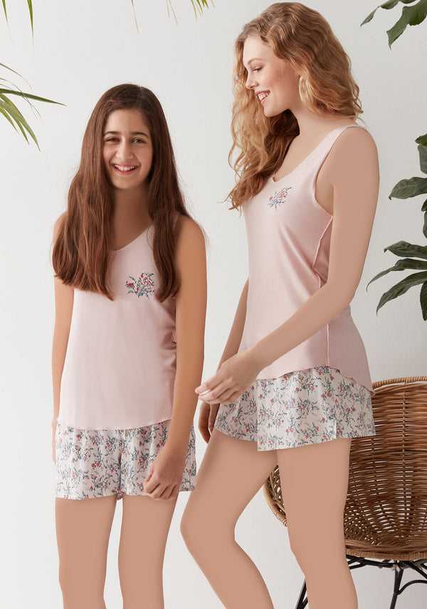 S&L Girls Short Set - Layla Collection
