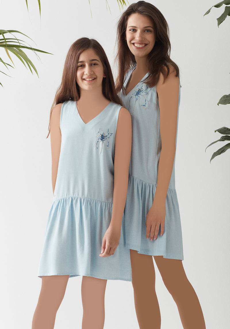 S&L Girls Nighty - Layla Collection