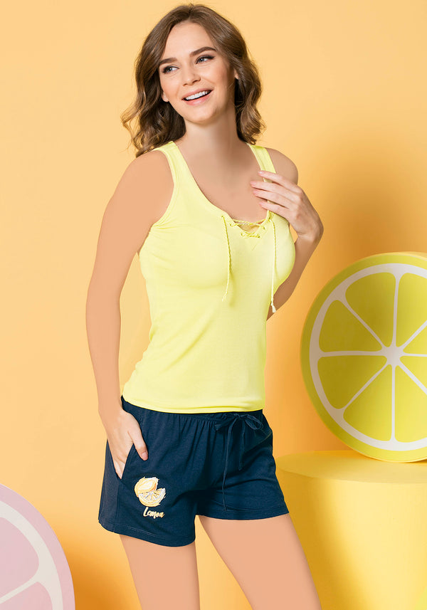 S&L Lemon Short Set - Layla Collection