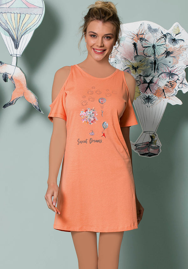S&L Parachute Nighty - Layla Collection